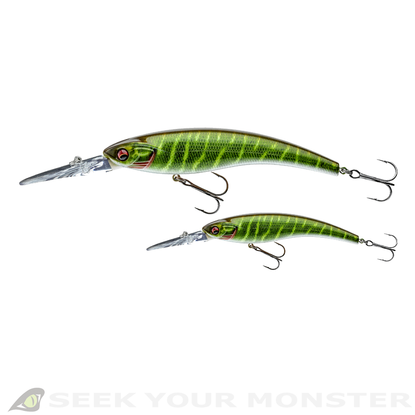PROREX Diving Minnow DR - Livve Pike - DAIWA by PROREX